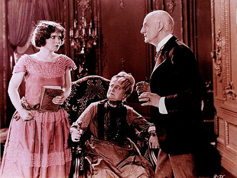 Black Oxen (1923) Corinne Griffith, Kate Lester and Thomas Ricketts, in the type of role for which he became famous