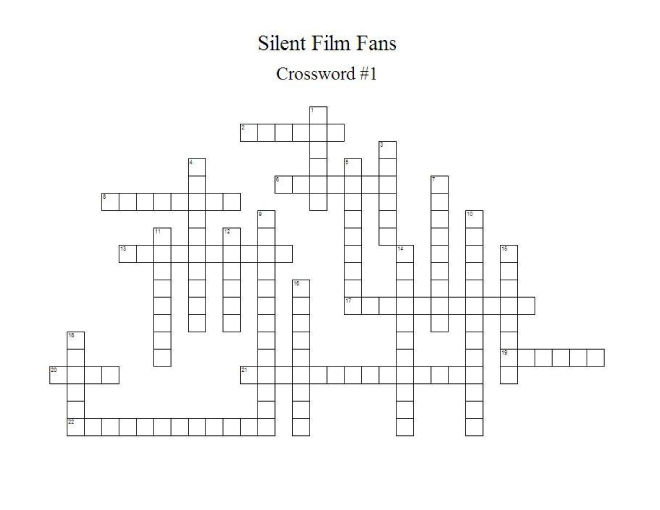 Crossword No 11