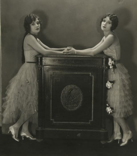 Sisters Alice and Marceline Day