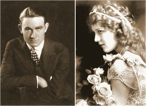 Owen Moore and Mary Pickford